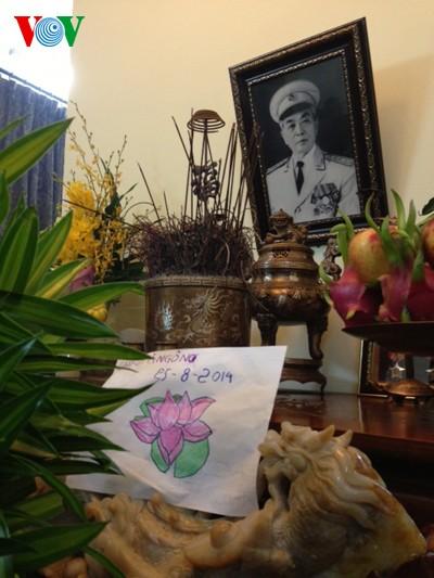 104. Geburtstag des Generals Vo Nguyen Giap an der Hoang Dieu Straße 30 - ảnh 5