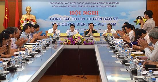 Konferenz über Aufklärung der territorialen Integrität der Meere und Inseln - ảnh 1