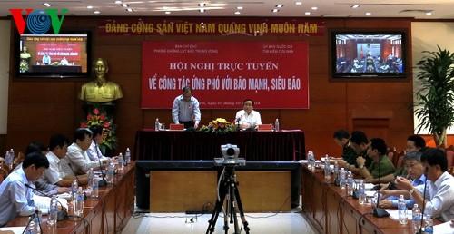 Vizepremierminister Hoang Trung Hai fordert Plan zur Prävention gegen starke Taifune - ảnh 1