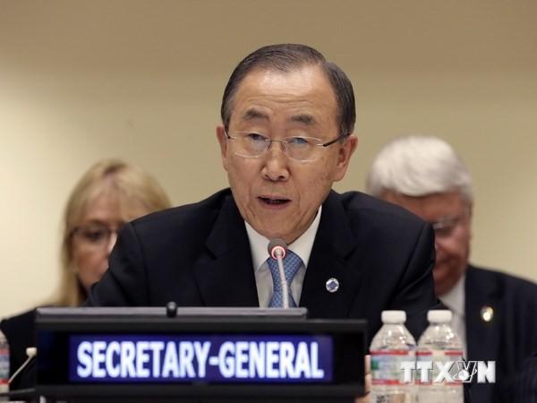 UN-Generalsekretär ruft Israel und Palästina wieder zu Friedensverhandlungen auf - ảnh 1
