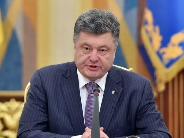 Poroschenko ratifiziert Gesetz über Sonderstatus für Ostukraine - ảnh 1