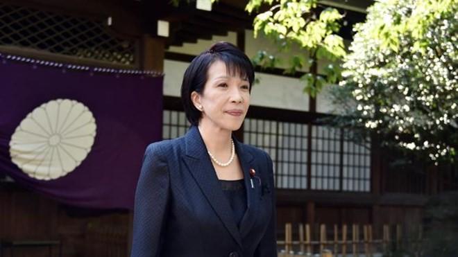 Zwei japanische Minister besuchen den Yasukuni-Schrein - ảnh 1