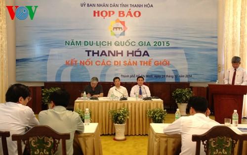 Tourismus-Jahr 2015 in Thanh Hoa verbindet Welterbe - ảnh 1