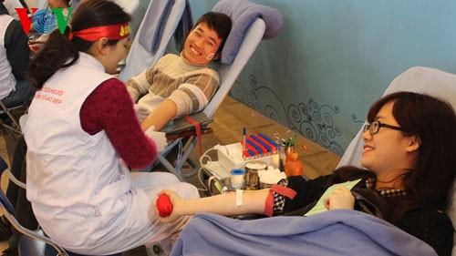 Fest der freiwilligen Jugendlichen-Blutspender - ảnh 1