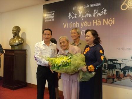 Vu Tuan San-100 Jahre für Hanoi - ảnh 1