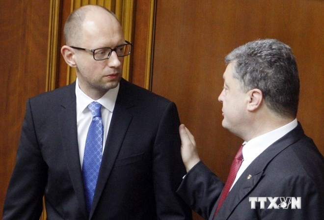 Politische Zukunft der Ukraine nach der Wahl - ảnh 1
