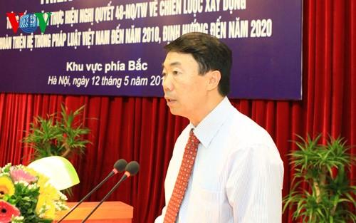 Aufbau des Gesetzessystems in Vietnam - ảnh 1