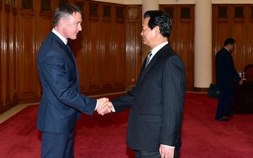 Premierminister Nguyen Tan Dung: Vietnam sei entschieden gegen Drogenhandel - ảnh 1