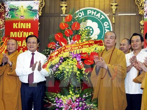 Buddhistische Gläubige leisten großen Beitrag zum Aufbau der Hauptstadt Hanoi - ảnh 1