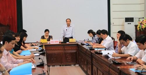 Bilanzkonferenz zur Umsetzung der Regierungsprojekte über Frauen und Kinder - ảnh 1