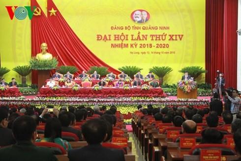 Spitzenpolitiker des Landes nehmen an Parteitag der Provinzen teil - ảnh 1