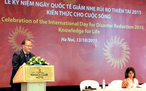 Vietnam baut eine selbst aktive und sichere Gesellschaft vor Naturkatastrophen auf - ảnh 1