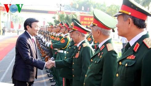 Streitkräfte der Militärzone 1 ist ein Garant für die Souveränität des Landes - ảnh 1