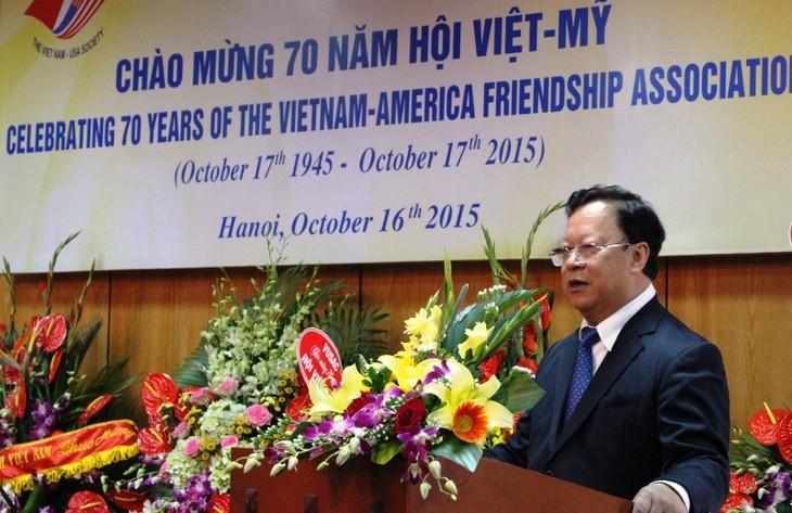 Vietnamesisch- US-amerikanischer Verein feiert den 70. Jahrestag seiner Gründung - ảnh 1