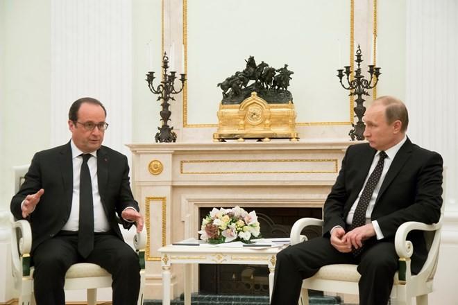 Russland und Frankreich bekräftigen Kampf gegen den Terror - ảnh 1
