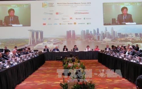 Vietnam nimmt am Treffen der Bürgermeister der weltweiten Großstädte teil - ảnh 1