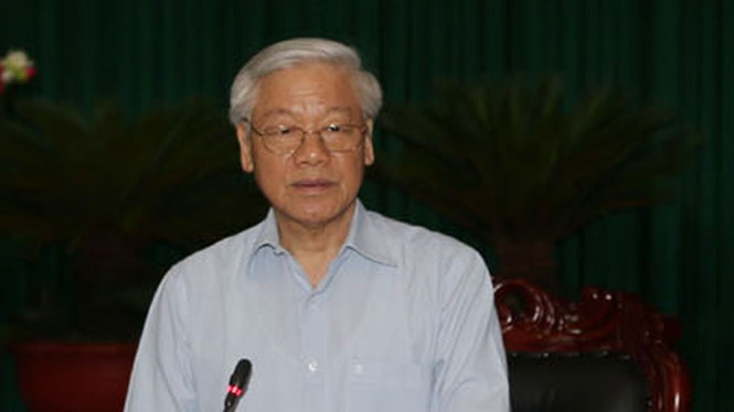 KPV-Generalsekretär Nguyen Phu Trong besucht Dien Bien - ảnh 1