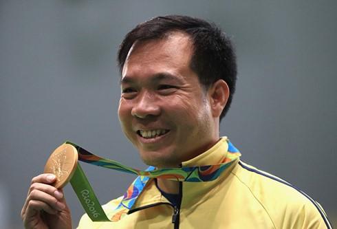 Vietnam hat erstmals eine Goldmedaille bei den Olympischen Spielen gewonnen - ảnh 1