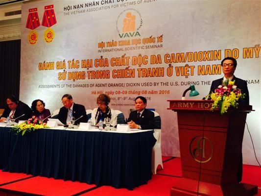 Forum zur Bewertung der Schäden von Agent Orange im Vietnamkrieg - ảnh 1