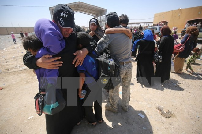 Irak befreit vier Dörfer im Süden der Stadt Mosul vom IS - ảnh 1