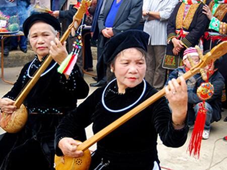 Einzigartige Zeremonie beim Then-Gesang der Nung - ảnh 1
