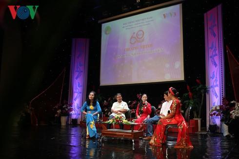 Feier zum 60. Jahrestag der Sendung von traditionellen Gesängen und Musik - ảnh 1