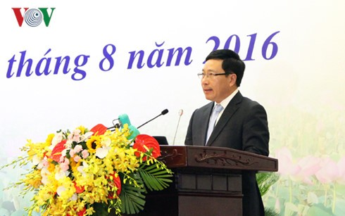 Vietnam will regionale Diplomatie für seine Entwicklung verbessern - ảnh 1