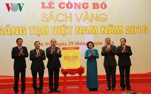 Nguyen Thi Kim Ngan bei Veröffentlichung des goldenen Buches der Kreativität Vietnams 2016 - ảnh 1