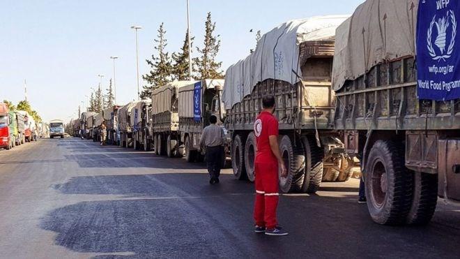 UNO stellt humanitäre Hilfe für Syrien ein - ảnh 1