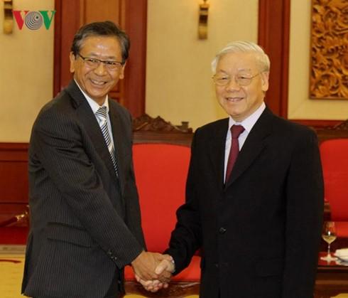 KPV-Generalsekretär Nguyen Phu Trong empfängt Japans Botschafter  - ảnh 1