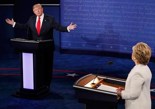 US-Wahlen: Spannungen bei dritten Duell bis letzten Minuten - ảnh 1