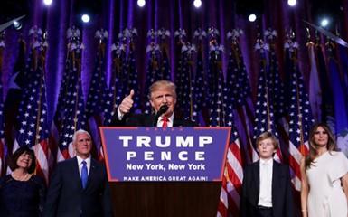 Amerikaner begrüßen den 45. Präsidenten des Landes - ảnh 1