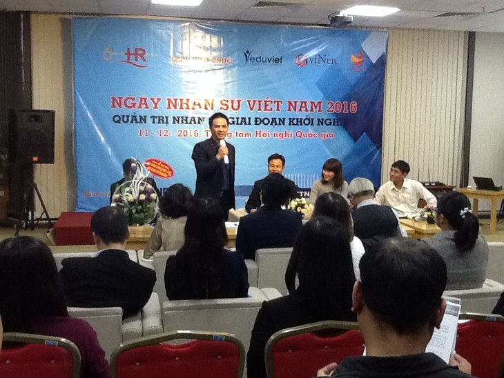Tag des Personalwesens 2016 in Vietnam  am 11. Dezember in Hanoi - ảnh 1