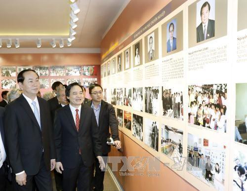Staatspräsident Tran Dai Quang fordert mehr Kompetenzentren für Ausbildung - ảnh 1