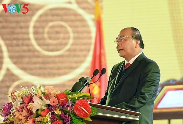 Premierminister Nguyen Xuan Phuc nimmt an Feier des 185. Jahrestags der Gründung von Bac Ninh teil - ảnh 1