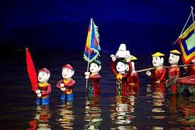 Wasserpuppentheater im Dorf Dao Thuc, Dong Anh, Hanoi - ảnh 1