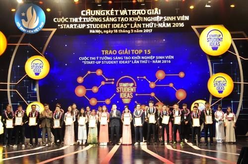 Finalrunde und Preisverleihung des Wettbewerbs der Innovation und Start-up der Studenten - ảnh 1