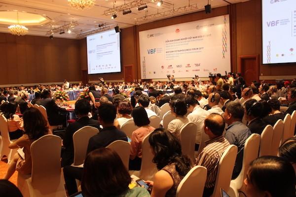 Förderung der Zusammenarbeit zwischen vietnamesischen Unternehmen und FDI-Unternehmen  - ảnh 1