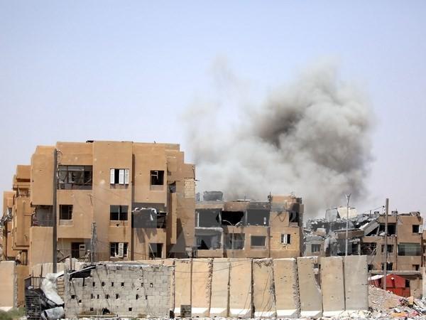 Syrische Armee eine wichtige Stadt in Homs - ảnh 1