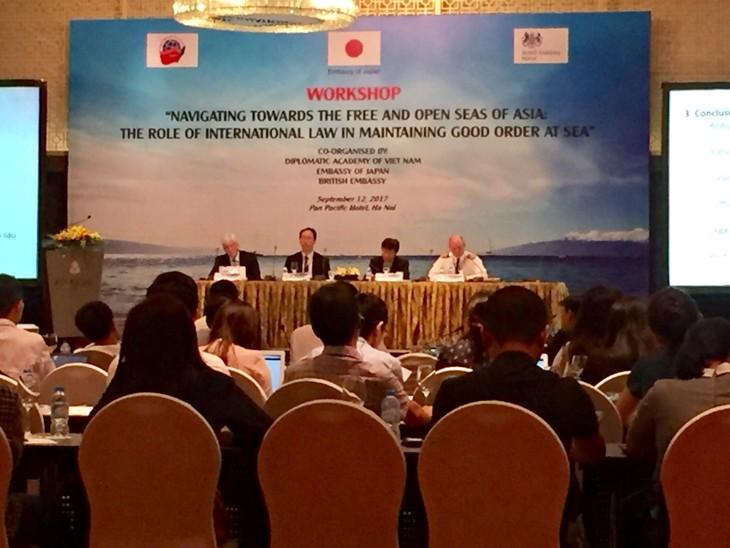 Internationale Gesetze spielen wichtige Rolle bei Erhaltung des Friedens und der Stabilität in Asien - ảnh 1