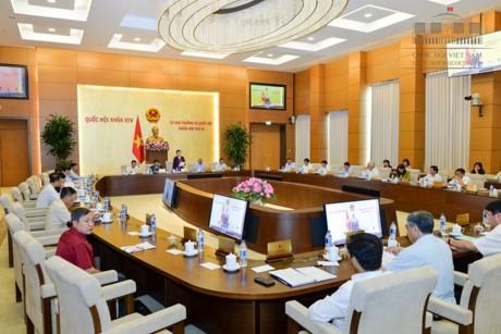 Ständiger Parlamentsausschuss diskutiert Gesetzentwurf über Messung und Landkarten - ảnh 1