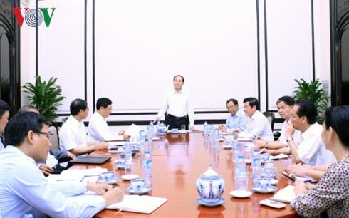 Ministerien sollen sich gut auf APEC-Woche vorbereiten - ảnh 1