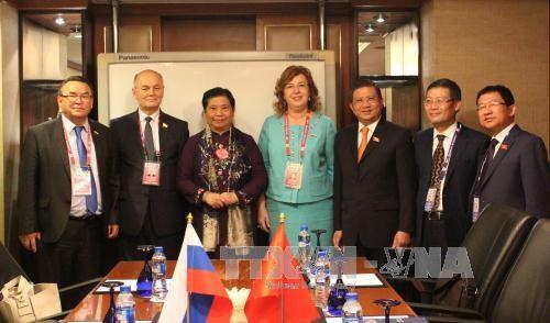 Vizeparlamentspräsidentin Tong Thi Phong trifft russische Vizeparlamentspräsidentin Olga Epifanowa - ảnh 1