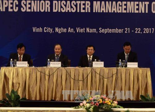 Konferenz hochrangiger Beamten der APEC-Länder über Naturkatastrophenmanagement - ảnh 1