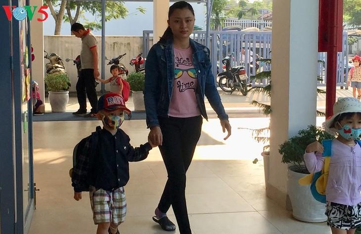 Kindergarten nach internationalem Standard für Kinder von Arbeitern in Danang - ảnh 1