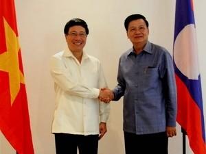 การเจรจาระหว่างกระทรวงการต่างประเทศเวียดนาม-ลาว - ảnh 1