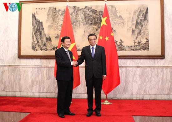 เวียดนามและจีนลงนามข้อตกลงความร่วมมือ 10 ฉบับ - ảnh 1