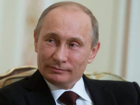 ประธานาธิบดีรัสเซีย วลาดีเมียร์ ปูติน เป็นนักการเมืองผู้ทรงอิทธิพลที่สุดในโลกประจำปี 2013 - ảnh 1