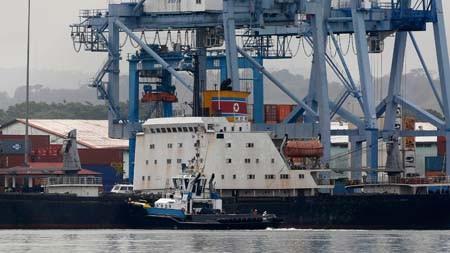 """ปานามาปล่อยเรือ """"โชงชนกัง"""" ของสาธารณรัฐประชาธิปไตยประชาชนเกาหลี - ảnh 1"""