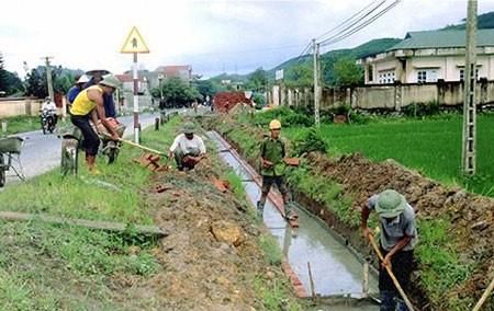 การพัฒนาชนบทใหม่ การสานฝันให้เป็นจริงในตำบลแทงวัน กรุงฮานอย - ảnh 1